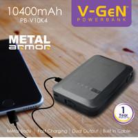 Jual Power bank V-Gen [PB-V10K4 ]10400 mah Murah
