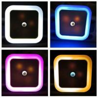 Jual BARU Lampu Tidur LED Sensor Cahaya EU Plug - White Diskon Murah