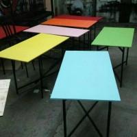 120x60x70 meja lipat / meja makan/ meja bazar/ meja kerja