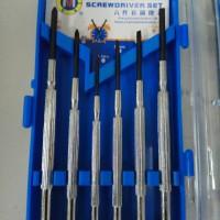 Obeng Jam 6 Pcs C-Mart Taiwan C0025
