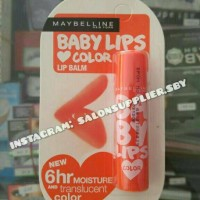 Maybelline Baby Lips Colour - Coral Flush