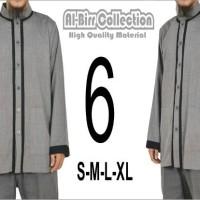 Baju Muslim Kemeja Koko Gamis Pria Dewasa Premium Lengan Panjang