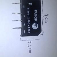 Dioda Bridge Fagor B250 C3700 / 2200