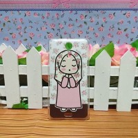 Sony XPeria ZR - HArdcase Bening Custom Case Casing Hijab HJ-28 cases