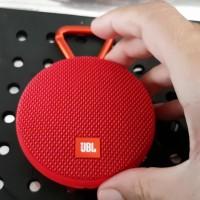 Jual JBL Clip 2   RED Waterproof Bluetooth Speaker   Original Garansi Resmi Murah