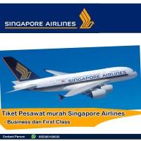 Tiket Pesawat Murah Singapore Airlines Business dan First Class