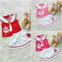 harga Setelan rok sailor girl baju bayi anak Tokopedia.com