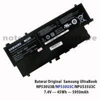 Baterai Samsung UltraBook NP530U3B/NP530U3C/NPU535U3C Series ORIGINAL