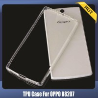 Imak Ultra Thin TPU Case For Oppo R1C R8207 Transparent