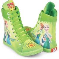 sepatu anak perempuan, sepatu sekolah anak cewek, FROZEN, 795CNZ
