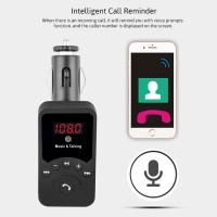 harga 701E Bluetooth Car Kit FM Transmitter MP3 Player Car Charger Tokopedia.com