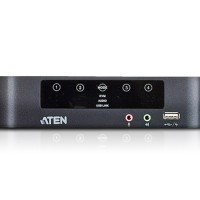 KVM -Aten- 4-Port USB Mini DisplayPort/Audio Dual Display KVMP CS1944
