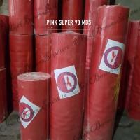 Karpet Talang Air Tinggi 90 cm Pink Super Merk MBS (PER METER)