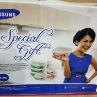 SUPER PROMO Lock n Lock Container Glass Tempat Makan Classic Set