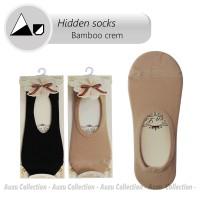 Jual Invisible Socks Fiber bamboo   Hidden socks   Boat socks   Crem Import Murah