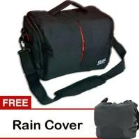 Jual kode T tas kamera universal selempang dslr eos canon free rain cover Murah