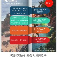 Tiket Air Asia Promo For Min 4 Pax