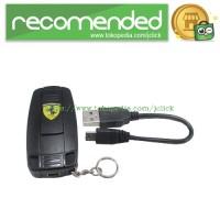 Korek Elektrik Ferrari USB Cigarette Lighter - Black