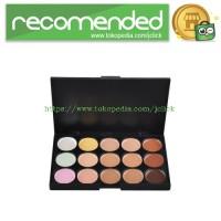 Concealer Palette 15 Warna - Z15-1 - Black
