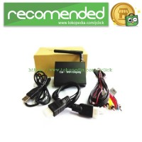 Car Wireless Miracast / Airplay / DLNA Display Share 2.4GHz - Black