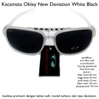 harga KACAMATA EYEWEAR SUNGLASSES OAKLEY DEVIATION FULL BLACK FULL SET Tokopedia.com