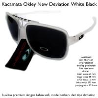 harga KACAMATA EYEWEAR SUNGLASSES OAKLEY DEVIATION BLACK FULL SET Tokopedia.com