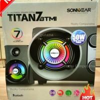 Jual [SONIC GEAR] Speaker Titan 7 BTMI Bluetooth, FM Radio, USB & Line In Murah