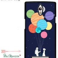 Custom Case Oppo Find 7 Love Planet Design