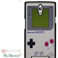 Custom Case Oppo Find 7 Nintendo Gameboy Design