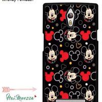 Custom Case Oppo Find 7 Mickey Polkadot Design