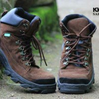 SEPATU BOOTS PRIA / VARIABLE TRACKING RING SAFETY BROWN SUEDE