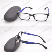 Frame Kacamata Minus Porsche Design 9830 Biru Termurah