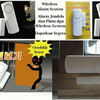 Alarm wireless System Pintu Dan Jendela / Alarm Pintu Dan Jendela Anti