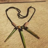 kalung handmade landak laut