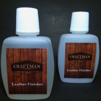 leather finisher - varnish cat kulit - clearcoat gloss