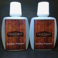 leather preparer and deglazer - penghapus lapisan cat kulit