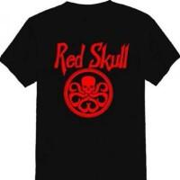 kaos red skull tshirt t-shirt tees 114031e698