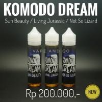Jual KOMODO DREAM ( SUN BEAUTY NOT SO LIZARD LIVING JURASSIC ) LIQUID 60ML Murah