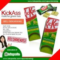 Jual Liquid Premium Lokal - kickass matcha green tea - kitkat murah Murah