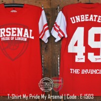 Jual Kaos Arsenal Unbeaten Murah