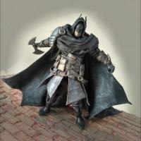 Jual Batman Assassin cape bahan dc Custom figure Murah