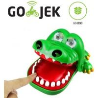 Jual Mainan Anak Gigi Buaya Crocodile Dentist Finger Bite Running Man Games Murah