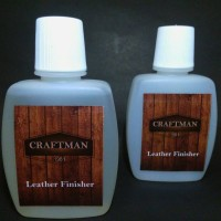 leather finisher varnish kulit pelapis clearcoat gloss