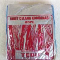 Jas Hujan STELAN PLASTIK (BAJU + CELANA) merk TEBU - PR Limited