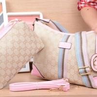 Tas Fashion Gucci Crossbody 372181 Set 2in1 #VC #Gucci