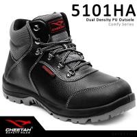 Sepatu Safety Shoes Cheetah 5101HA Hitam Ankle Boots Tali