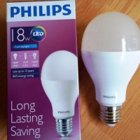 Lampu LED Philips 18 Watt Cool Daylight/Putih (18W 18Watt 18 W)