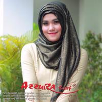 PROMO kerudung terbaru trendy wanita cantik pasmina GLITTER by azzura