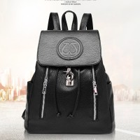 Jual Tas Ransel Import Wanita - Drawstring Retro Backpack Murah