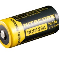 Baterai RCR123A (16340) NITECORE 650mAH (NL166)